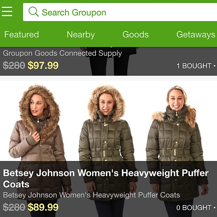 Groupon Wedding: Online Modeling